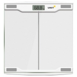Весы напольные UNIT UBS-2054 светло-серые, купить за 770руб.