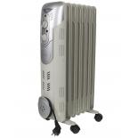 Обогреватель Rolsen ROH-D7 (масляный радиатор, 1500 Вт), белый