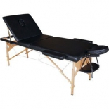 стол массажный DFC Nirvana Relax Pro, черный