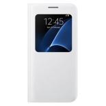 чехол для смартфона Samsung для Samsung Galaxy S7 S View Cover, белый
