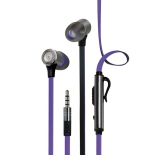 гарнитура для телефона InterStep BWhite Headset, фиолетовая