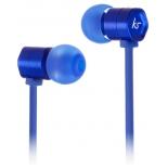 гарнитура для телефона Kitsound Hive, синяя