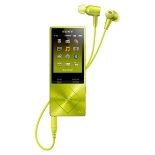 аудиоплеер Sony Walkman NW-A25HN Hi-Res 16 ГБ, лайм
