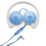 гарнитура для телефона HP H2800, белая/голубая