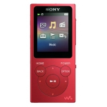 аудиоплеер Sony Walkman NW-E394, красный