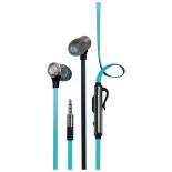 гарнитура для телефона InterStep BWhite Headset, голубая