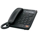 проводной телефон Panasonic KX-TS2570RUB, черный