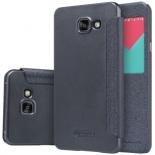 чехол для смартфона Nillkin Sparkle Leather Case для Samsung Galaxy A7 2016 (A710) черный