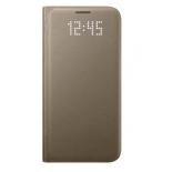 чехол для смартфона Samsung для Samsung Galaxy S7 LED View Cover золотистый