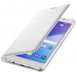 чехол для смартфона Samsung для Samsung Galaxy A7 (2016) Flip Wallet белый