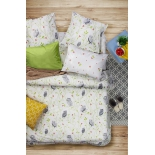Комплект постельного белья Sova Javoronok Барбарис, 1,5 спальный (50х70 см), поплин, купить за 2 200руб.