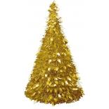новогодняя елка Торг-Хаус (150 см) золотистая