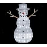 Новогоднее украшение Торг-Хаус 3D-LED фигура Снеговик-лесовик (60х25 см), купить за 5 945руб.