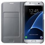 чехол для смартфона Samsung для Samsung Galaxy S7 edge LED View Cover серебристый