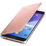 чехол для смартфона Samsung для Samsung Galaxy A7 (2016) Clear View Cover розовое золото