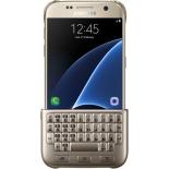 чехол для смартфона Samsung для Samsung Galaxy S7 Keyboard Cover золотистый