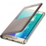 чехол для смартфона Samsung для Samsung Galaxy S6 Edge Plus S View G928 золотистый