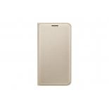 чехол для смартфона Samsung для Samsung Galaxy J1 mini Flip Cover, золотистый