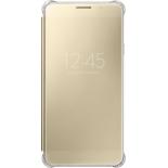 чехол для смартфона Samsung для Samsung Galaxy A7 (2016) Clear View Cover, золотистый