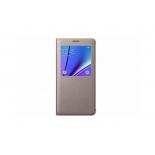 чехол для смартфона Samsung для Samsung Galaxy Note 5 S View, золотистый