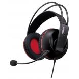 гарнитура для ПК Asus Cerberus черный/красный 1.3м Совместима с PlayStation4