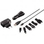 зарядное устройство Hama H-17884 (7 адаптеров) черное