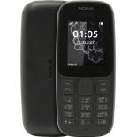 сотовый телефон Nokia 105 TA-1010 (одна SIM-карта), черный