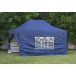 шатёр Торг-Хаус 3х4.5 м + 4 стенки, синий