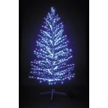 новогодняя елка Торг-Хаус LED Ель (210 см) синяя