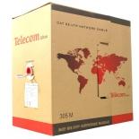 кабель (шнур) Telecom UTP 5e 305м PVC (для помещений)
