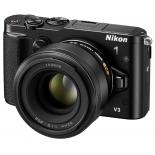 цифровой фотоаппарат Nikon 1 V3 KIT (VR 10-30mm f/3.5-5.6 PD-ZOOM), черный