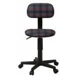 компьютерное кресло Бюрократ CH-201NX/53-11, коричневый (клетка шотландка)
