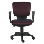 компьютерное кресло Бюрократ CH-626AXSN/V-02 ромбик, бордовое