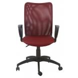 компьютерное кресло Бюрократ CH-599/DC/TW-13N/TW-06N, темно-бордовый