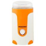 кофемолка Микма ИП 33, бело-оранжевая