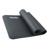 коврик для йоги Starfit FM-301 (183x58x1,0 см), серый