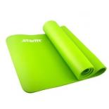 коврик для йоги Starfit FM-301 (183x58x1,0 см), зеленый