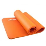 коврик для йоги Starfit FM-301 (183x58x1,5 см), оранжевый