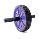 тренажер Ролик для пресса Starfit RL-101, фиолетово-черный