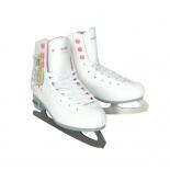 коньки Ice Blade Jasmine 33р  (с ресунком) white