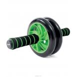 тренажер Ролик для пресса Starfit RL-102 PRO, зелено-черный