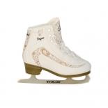 коньки Ice Blade Vogue 42р белые, золотистые