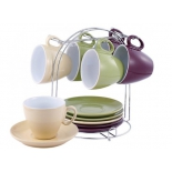 набор посуды Wellberg 23610 WB Glamour (чайный набор)