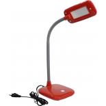 светильник настольный Эра NLED-450-5W-R, Красный