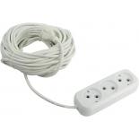 удлинительный кабель Smartbuy SBE-10-3-15-N 15м, (3 розетки)