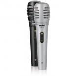 микрофон мультимедийный BBK CM215, черный-серебристый