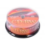 оптический диск CD-RW VS 700 МБ (25 шт) VSCDRWCB2501