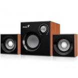 компьютерная акустика Genius SW-2.1 370 Wood, коричневая
