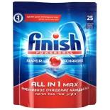 товар Таблетки для посудомоечной машины Finish Powerball All in 1 Max (25 шт в упаковке)