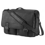 сумка для ноутбука HP Executive Leather Messenger 14, черная
